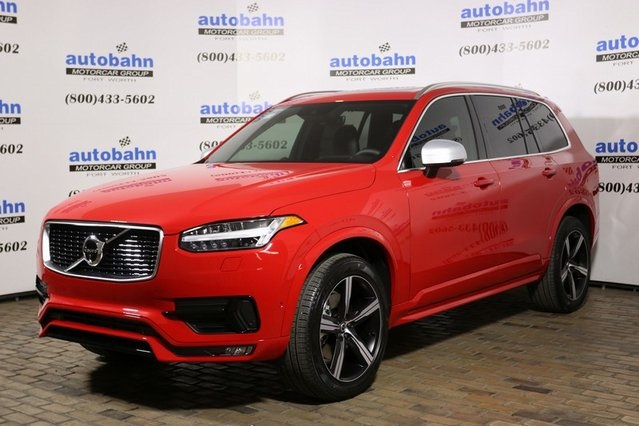 New 2019 Volvo Xc90 T6 R Design